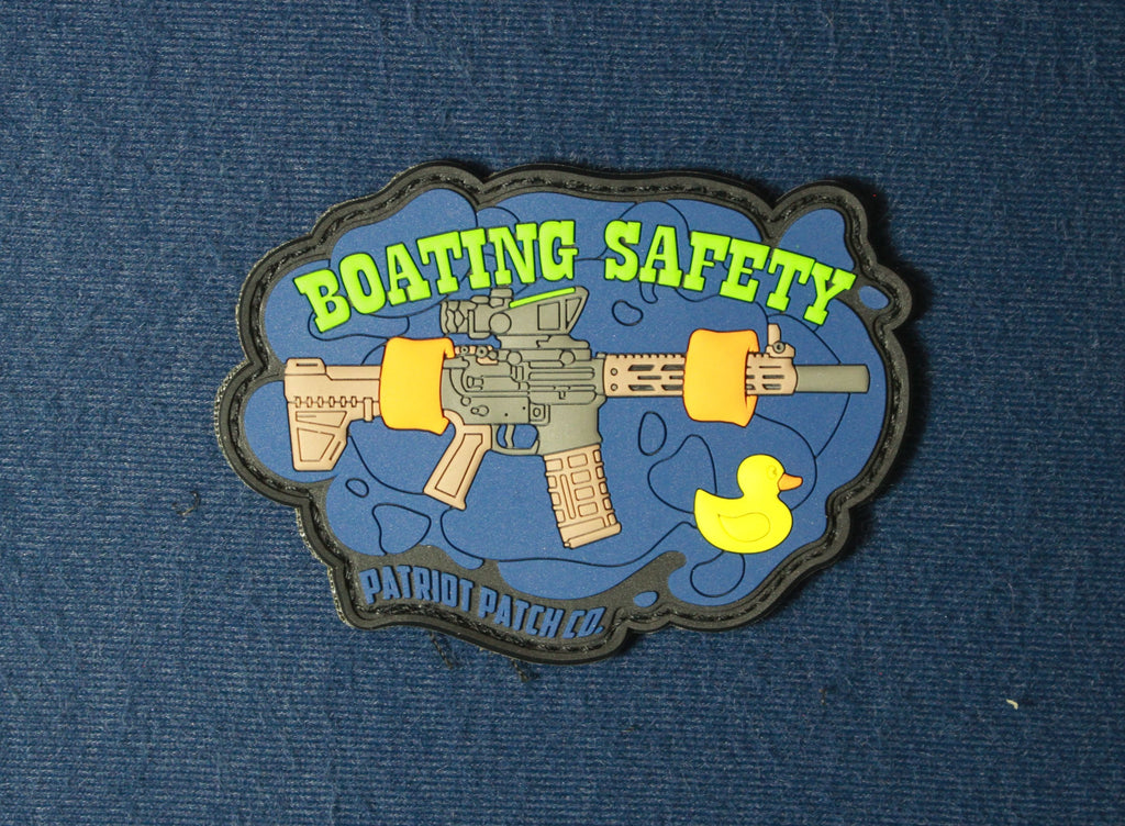 August 2018 Patch of the Month - Boating Safety