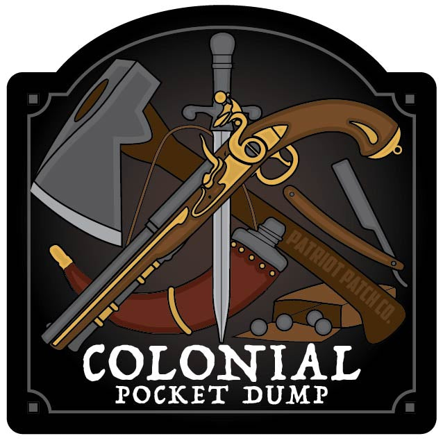 Colonial Pocket Dump Stickers