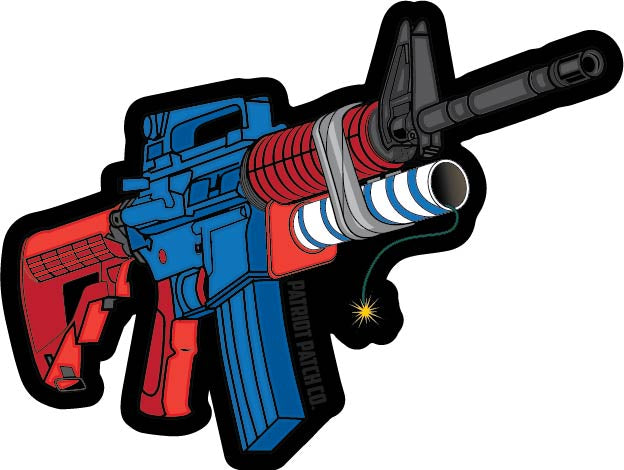 Redneck Grenade Launcher Stickers