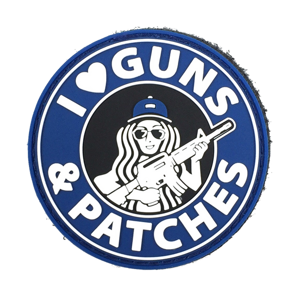 I ♥ Guns & Patches - Patch (Back-order)
