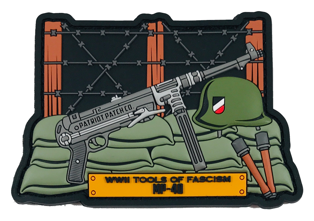 WWII Guns - MP-40 - Patch