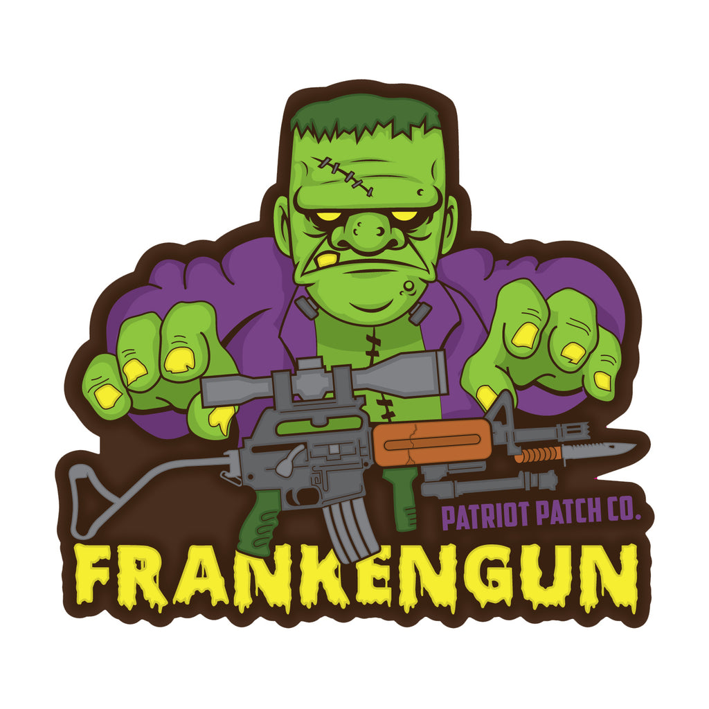 Frankengun Stickers