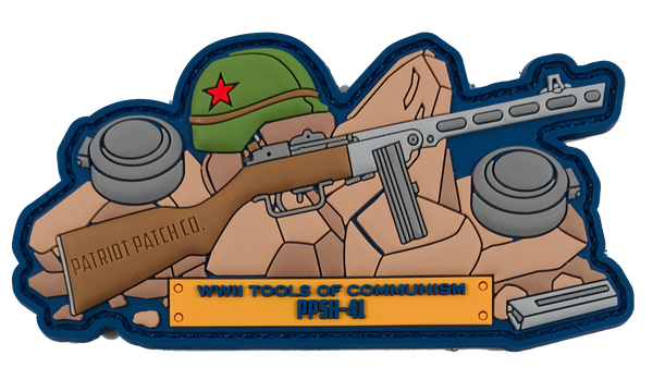WWII Guns - Russian PPSH-41 - Patch