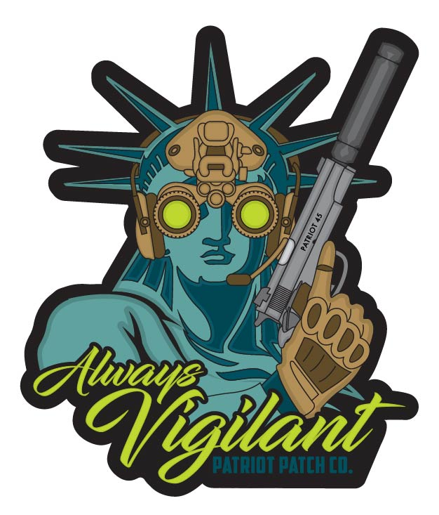 Always Vigilant Stickers