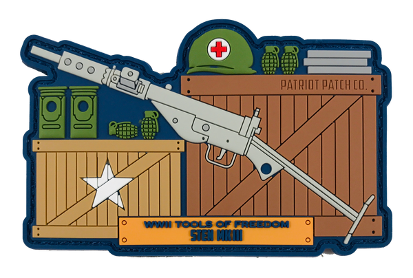 WWII Guns - Sten MK III - Patch