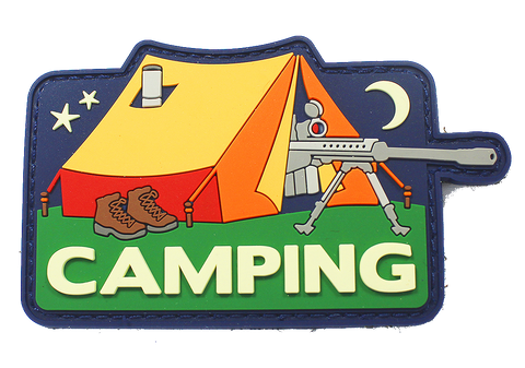 Camping - Patch