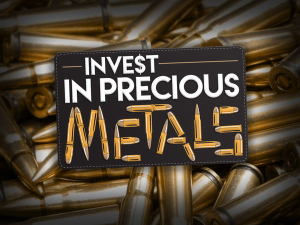 Invest In Precious Metals - Morale Patch