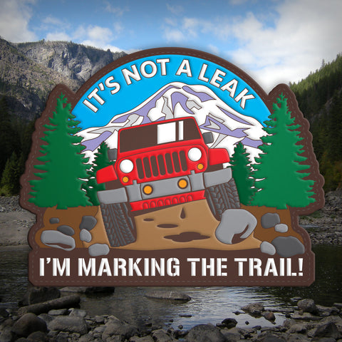 It's Not A Leak 4x4 - Morale Patch