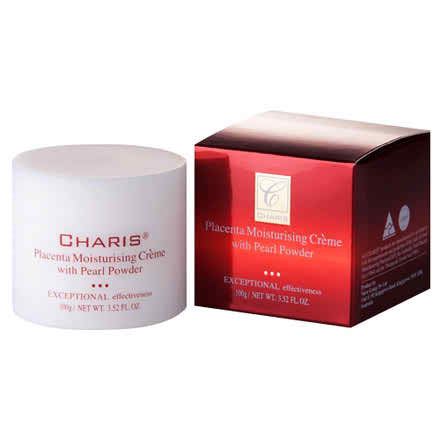 CHARIS Placenta Moisturising Cream with Pearl Powder