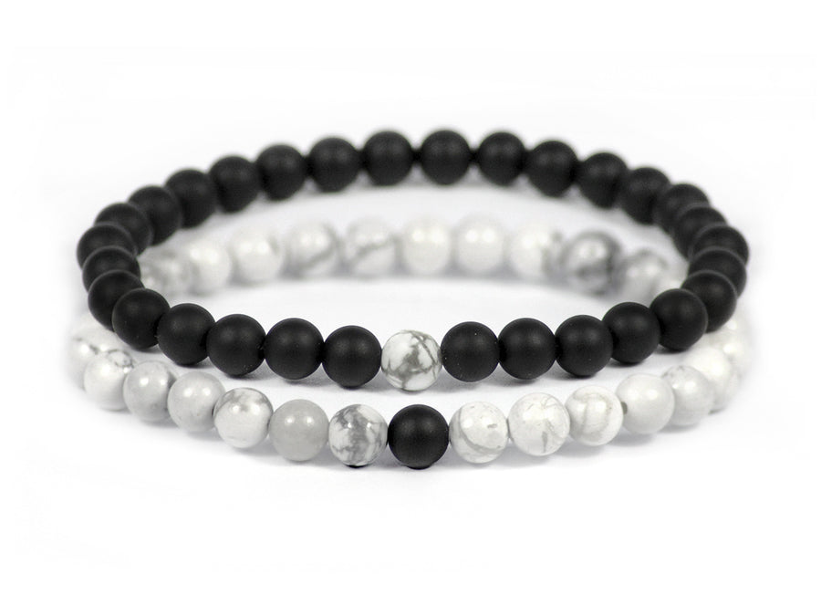 Black & White Linking Bracelets