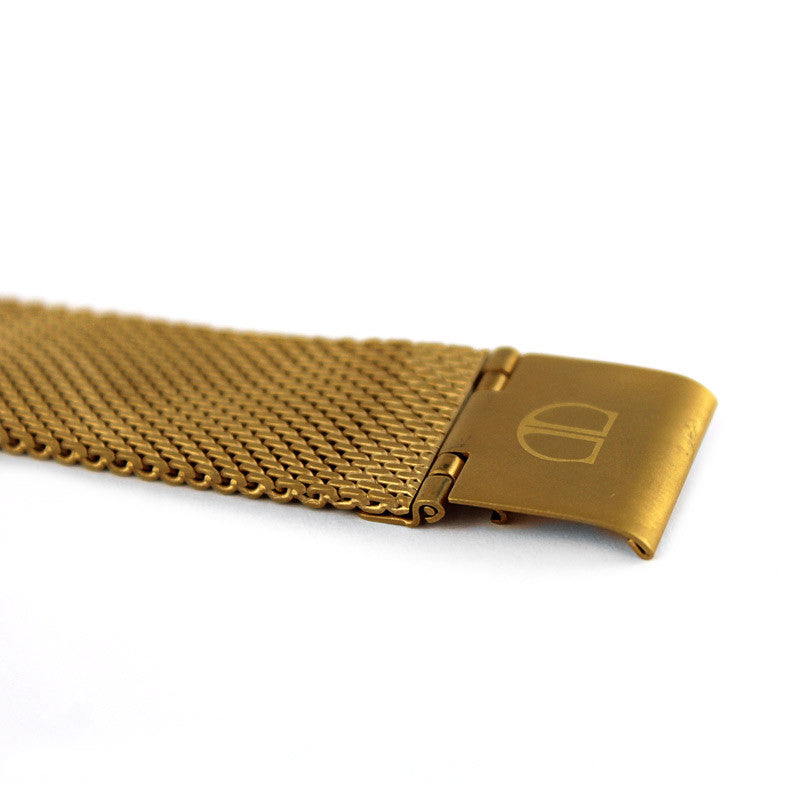 Gold Mesh Watch