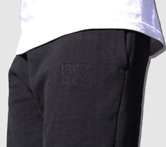 Herringbone Sweatpants Black