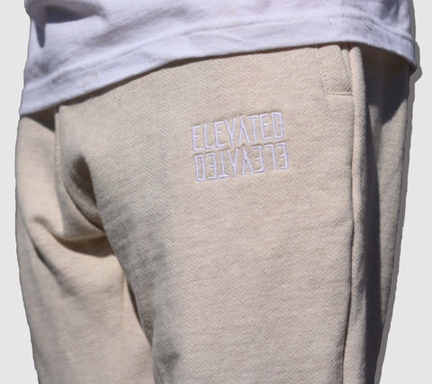 Herringbone Sweatpants Oatmeal