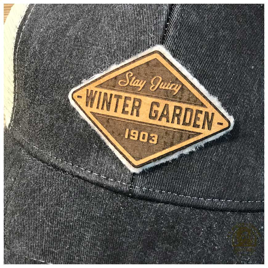 Winter Garden Diamond Trucker Hat - A. B. Newton and Company