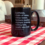 Clermont List Coffee Mug