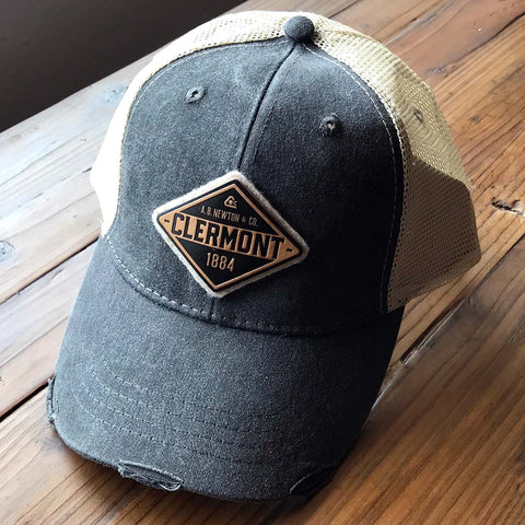 Clermont Diamond Trucker Hat - A. B. Newton and Company