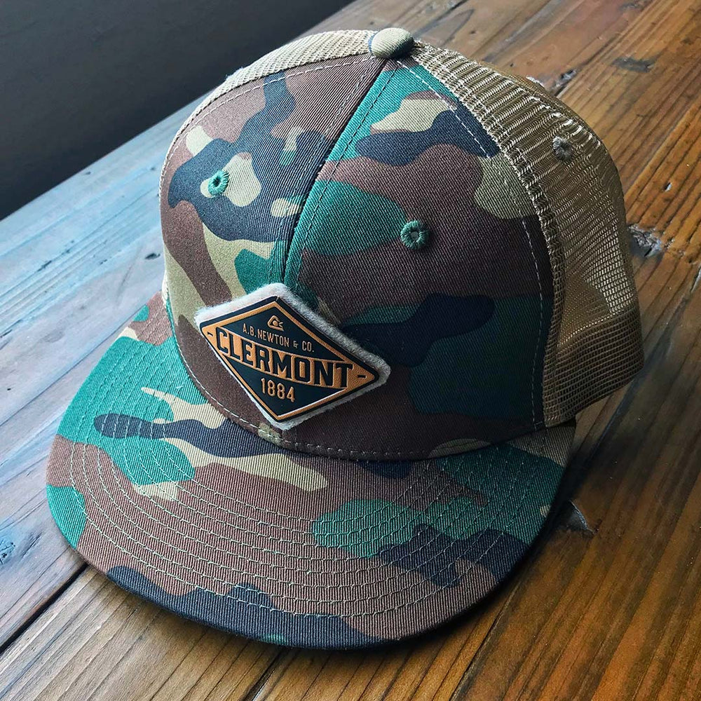 Clermont Diamond Camo Snapback Hat - A. B. Newton and Company