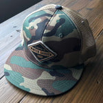 Winter Garden Diamond Camo Snapback Hat - A. B. Newton and Company