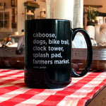Winter Garden List Coffee Mug