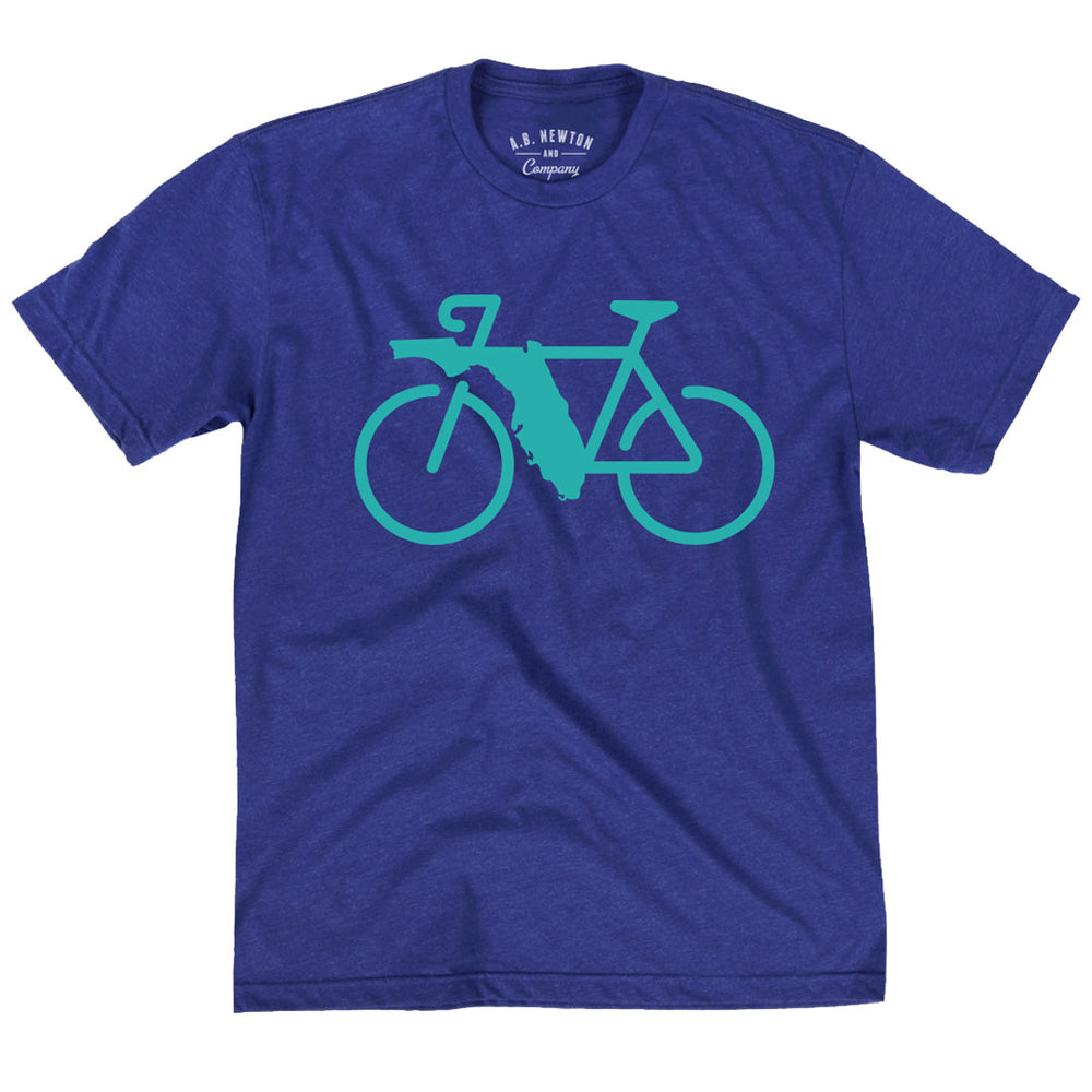 Florida Rides Royal Blue Shirt -  Unisex - A. B. Newton and Company