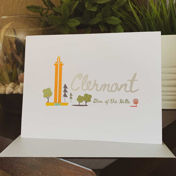 Citrus Tower Clermont Gem of the Hills Greeting Card - A. B. Newton and Company