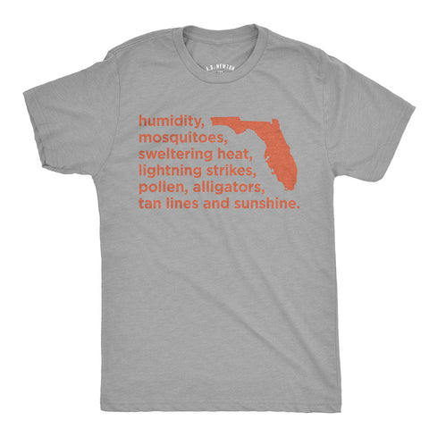 True Florida List Shirt -  Unisex - A. B. Newton and Company
