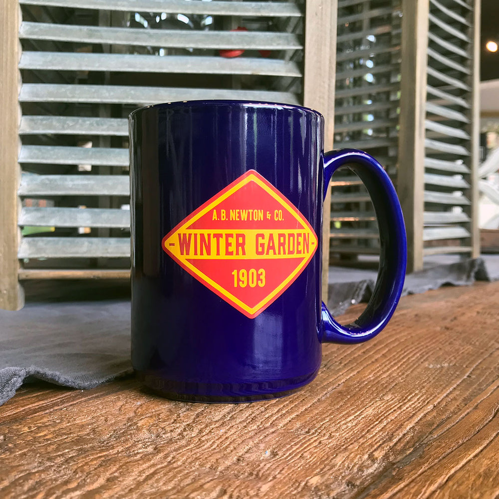Winter Garden Diamond Coffee Mug