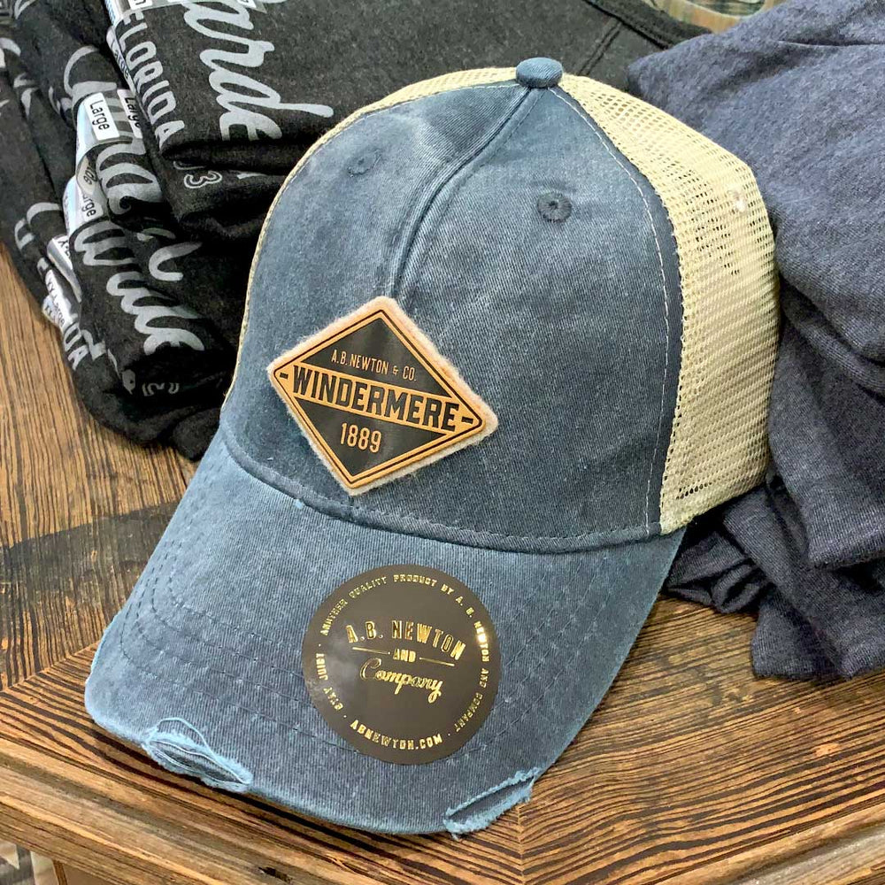 Windermere Diamond Trucker Hat - A. B. Newton and Company