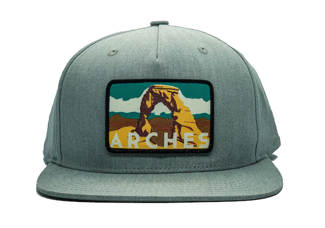 National Park Hat - Arches Flatbill