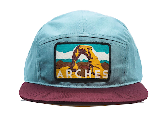National Park Hat - Arches 5 Panel