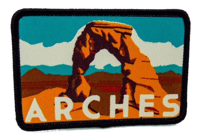 National Park Patch - Arches