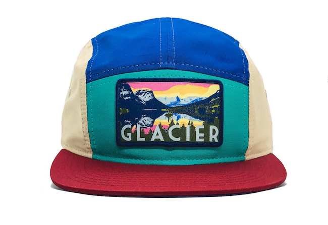 National Park Hat - Glacier - LIMITED EDITION BLOCK