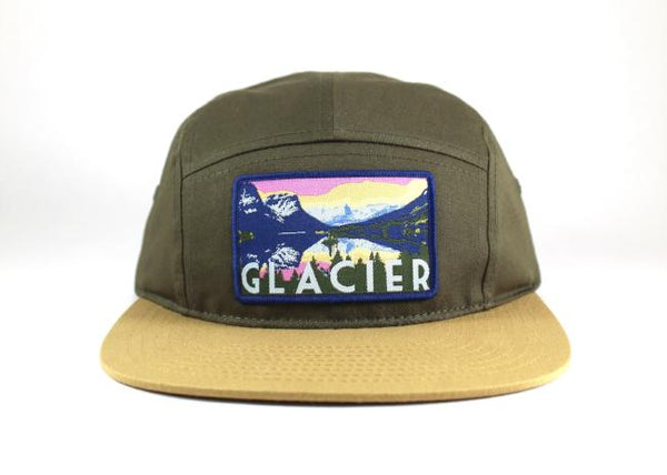 National Park Hat - Glacier 5 Panel