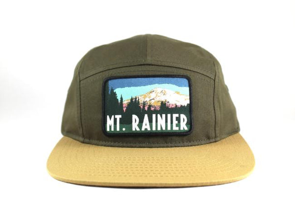 National Park Hat - Mt. Rainier 5 Panel