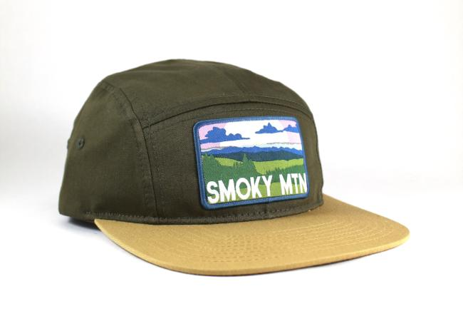 National Park Hat - Smoky Mountain 5 Panel