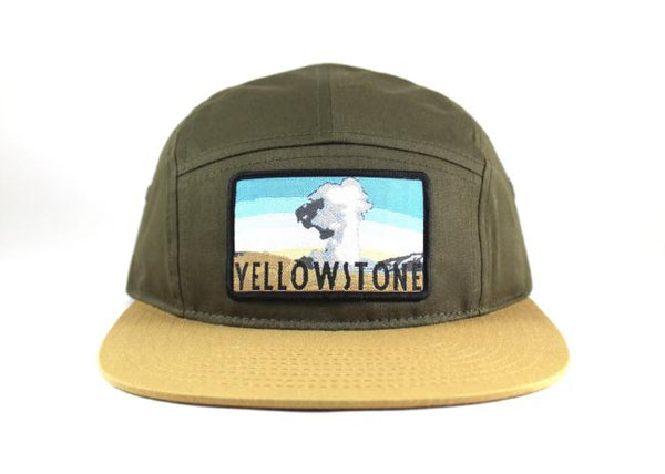 National Park Hat - Yellowstone 5 Panel