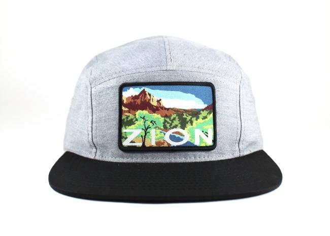 National Park Hat - Zion 5 Panel