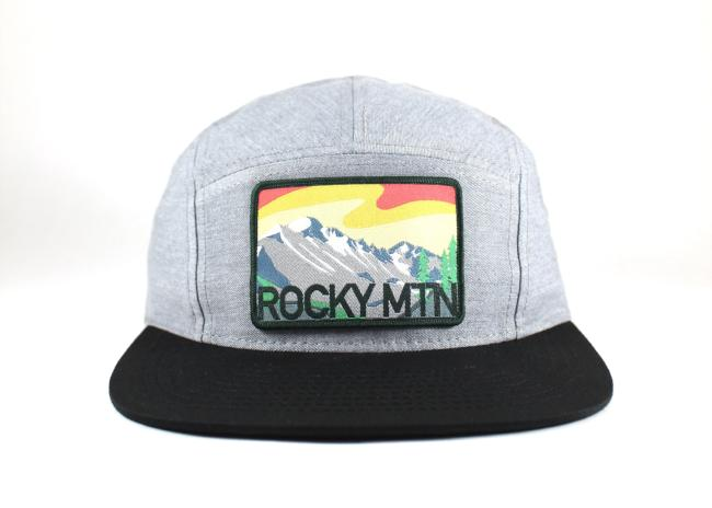 National Park Hat - Rocky Mountain 5 Panel