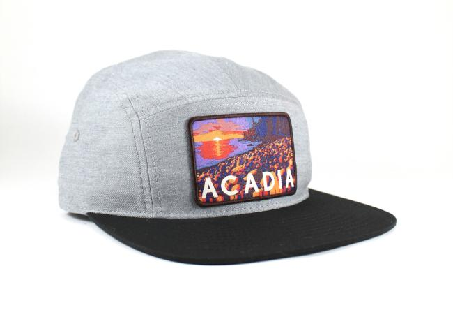 National Park Hat - Acadia 5 Panel