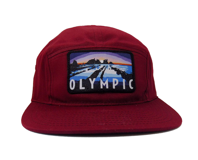 National Park Hat - Olympic 5 Panel