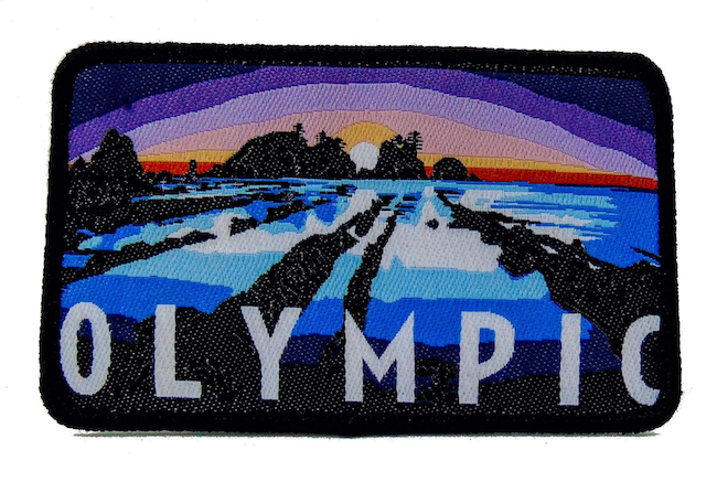 National Park Patch - Olympic