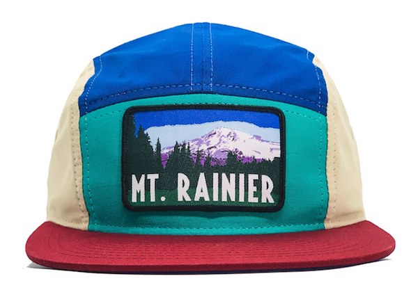 National Park Hat - Mount Rainier - LIMITED EDITION BLOCK