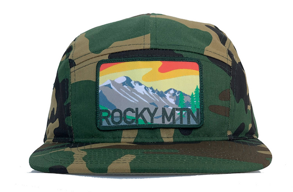 National Park Hat - Rocky Mountain - LIMITED EDITION Camo