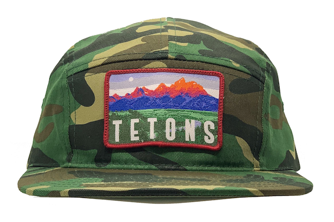 National Park Hat - Camo Special Edition Hats