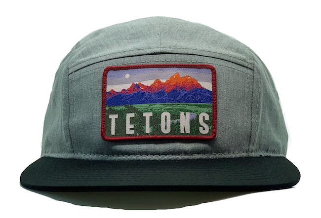 National Park Hat - Grand Teton 5 Panel