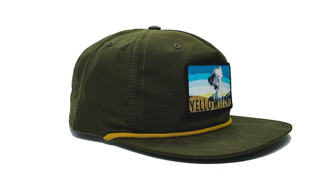 National Park Hat - Yellowstone Camper