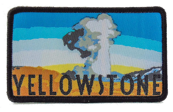 National Park Patch - Yellowstone