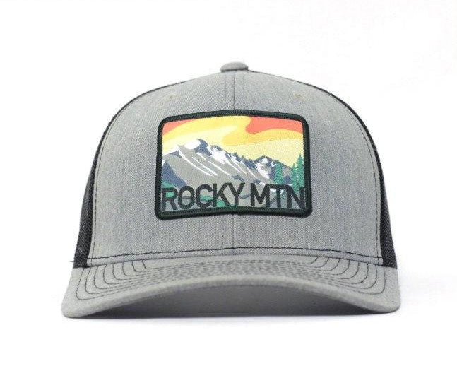 National Park Hat - Rocky Mountain Classic