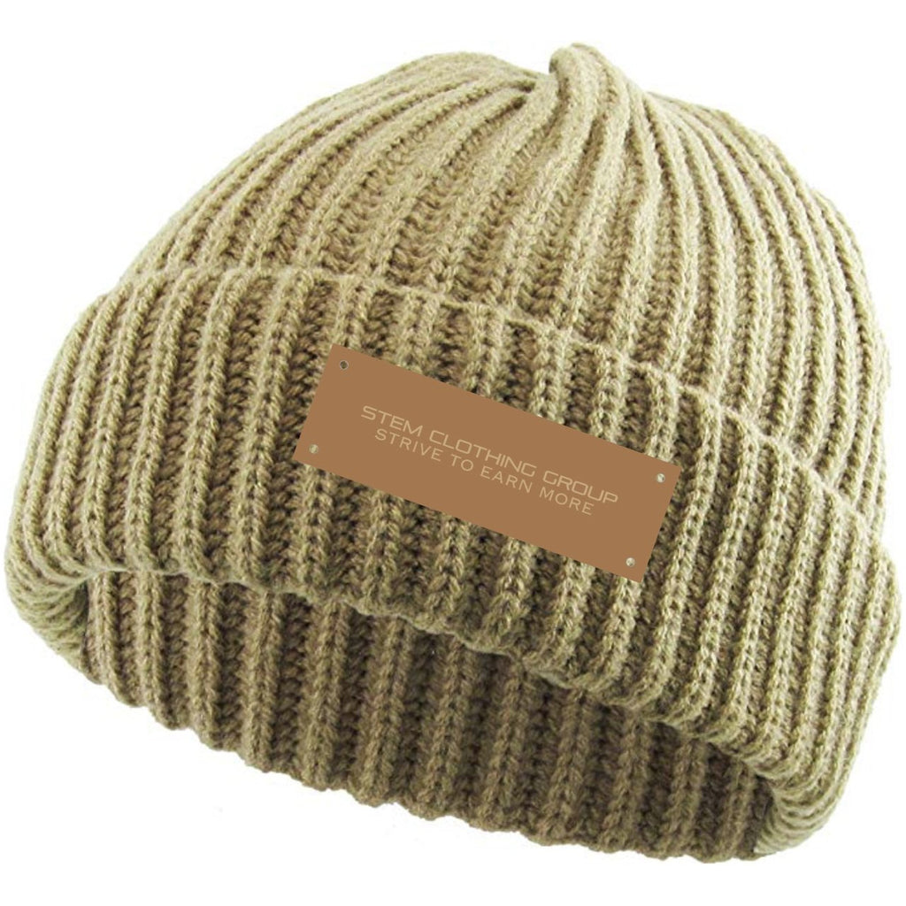 STEM Beanie- KHAKI - STEM Clothing Group