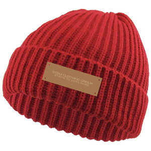 STEM Beanie- RED - STEM Clothing Group